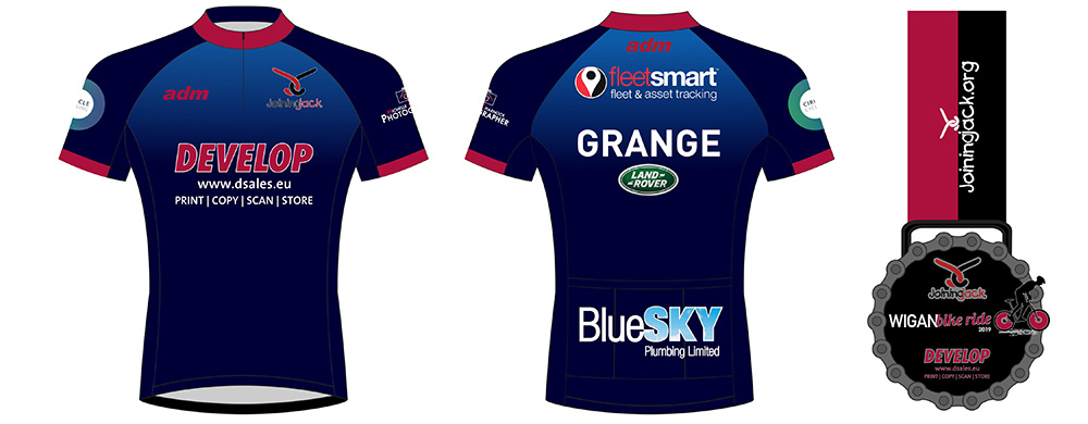 2019 Cycle Jersey and Medal